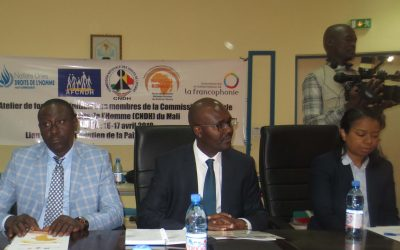Monitoring des droits de l'homme: les Commissaires de la CNDH formés