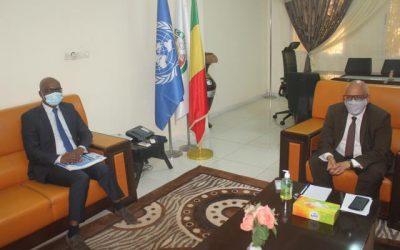 Le Ministre des Affaires Etrangères et de la Coopération Internationale reçoit en audience le Président de la CNDH