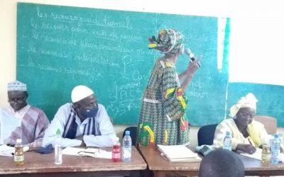 La Commissaire Fatimata Dembélé Djourté à la «Rencontre avec les professionnels» du Master «droits de l'homme et culture de la paix»