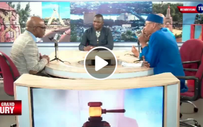 Le Président de la CNDH M. Aguibou BOUARE devant « le Grand Jury » de Renouveau TV (2ème partie)