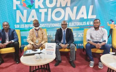 La CNDH à l'honneur au Forum National sur les réformes Constitutionnelles et Electorales