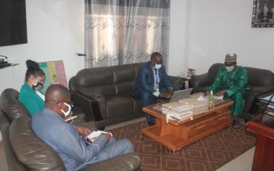 La CNDH reçoit une délégation de l'Ambassade des USA à Bamako