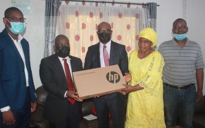 L'ASF Canada appuie la CNDH en matériels informatiques dans le cadre du Projet « Soutenir la lutte contre l'impunité au Mali »