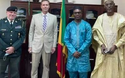 L'ambassadeur du Royaume du Danemark reçu par le Ministre Mohamed Sida DICKO