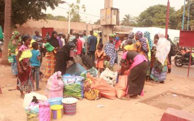 La CNDH fait face au débarquement d'une centaine de victimes de l'esclavage par ascendance venues du village de Bagamadougou, cercle de Diema