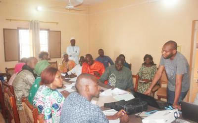 Renforcement de capacités des stagiaires recrutés sur le fonds FAMOC