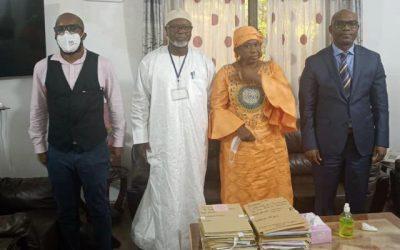 Visite de l'Expert indépendant des Nations Unies sur le Mali M. Alioune TINE à la CNDH