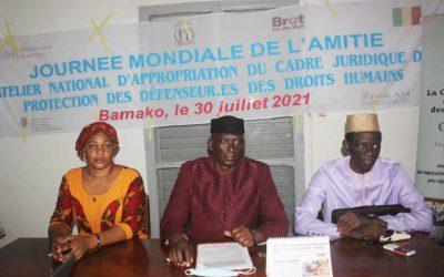 La CNDH à l'honneur à l'atelier national sur l'appropriation du cadre juridique de protection des défenseurs des droits Humains au Mali