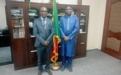 Le Président de la CNDH chez le Ministre de la justice pour échanger sur la situation des Droits de l'Homme au Mali, en lien avec l'actualité