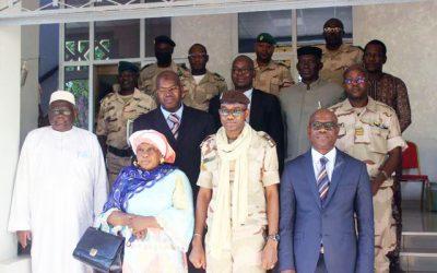 La CNDH reçue en audience par le Ministre de la Défense et des Anciens Combattants