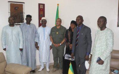 La CNDH reçue en audience par le Ministre de la Sécurité et de la Protection Civile